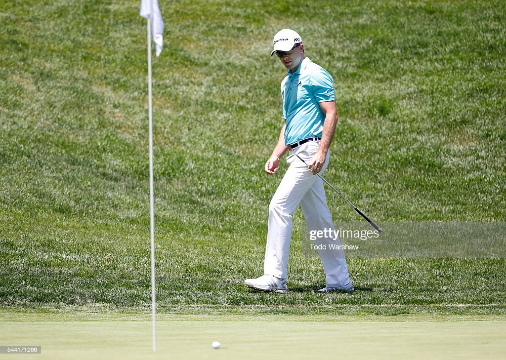 <a gi-track='captionPersonalityLinkClicked' href=/galleries/search?phrase=Martin+Laird&family=editorial&specificpeople=4333409 ng-click='$event.stopPropagation()'>Martin Laird</a> of Scotland prepares to play his shot on the 12th green during the second round of the Barracuda Championship at the Montreux Golf and Country Club on July 1, 2016 in Reno, Nevada.