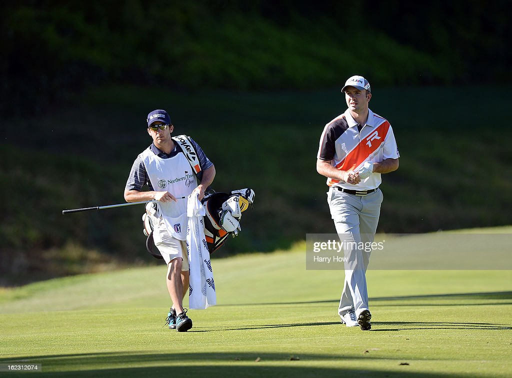 Martin Laird of Scotland walks on the seventh fairway during the second round of the Northern Trust Open at the Riviera Country Club on February 15, 2013 in Pacific Palisades, California.