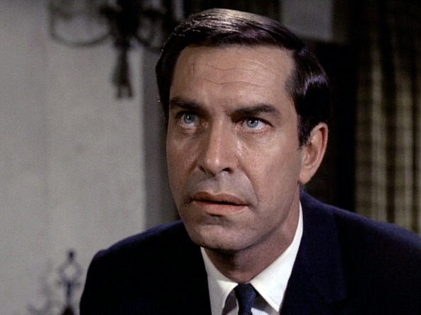 Martin Landau as Rollin Hand in the Mission Impossible episode 'Live ...