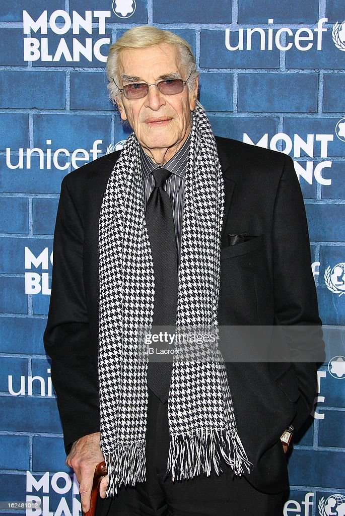 <a gi-track='captionPersonalityLinkClicked' href=/galleries/search?phrase=Martin+Landau&family=editorial&specificpeople=209352 ng-click='$event.stopPropagation()'>Martin Landau</a> attends the Montblanc and UNICEF pre-Oscar brunch celebrating their limited edition collection at Hotel Bel-Air on February 23, 2013 in Los Angeles, California.