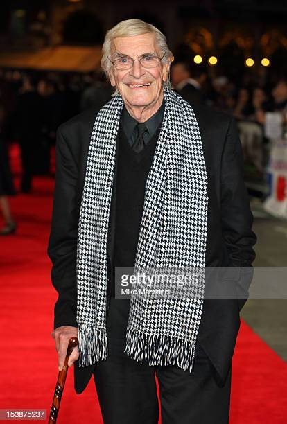 Martin Landau attends the Premiere of 'Frankenweenie' at the opening of the BFI London Film Festival at Odeon Leicester Square on October 10 2012 in...