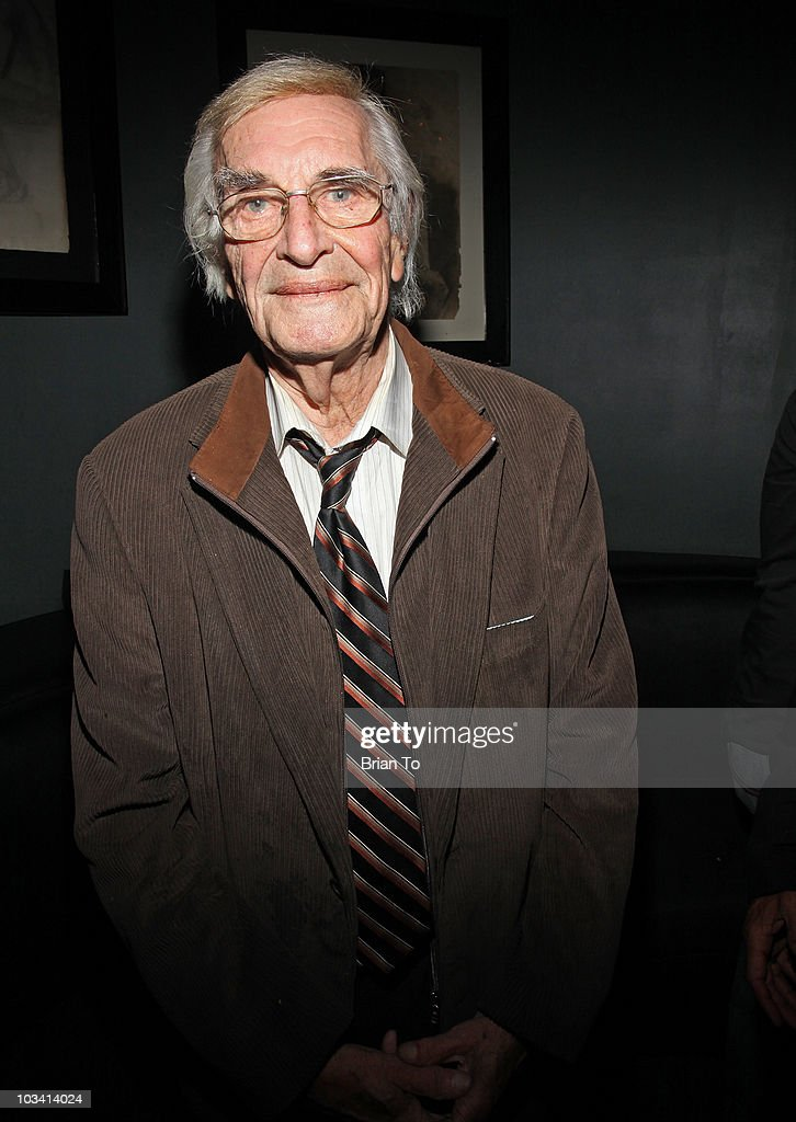 Martin Landau attends the wrap party for the feature film 'Mysteria ...
