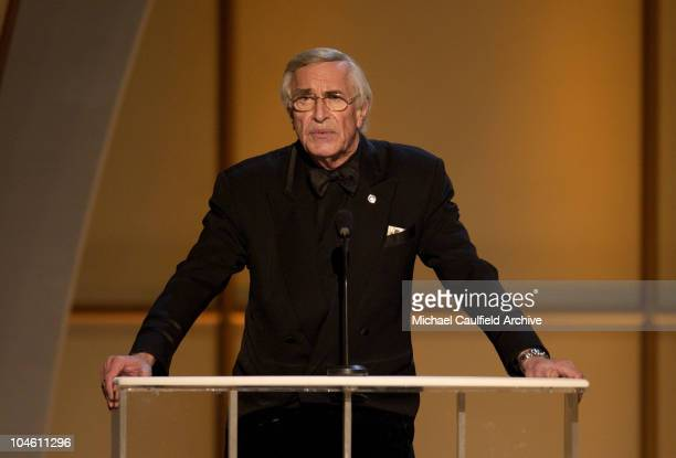 Martin Landau during The 8th Annual Screen Actors Guild Awards Show at The Shrine Auditorium in Los Angeles California United States