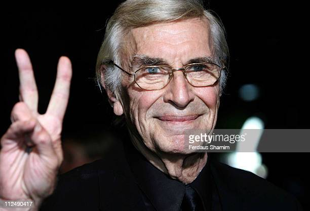 Martin Landau during 'The Aryan Couple' London Premiere at Odeon West End london in London Great Britain