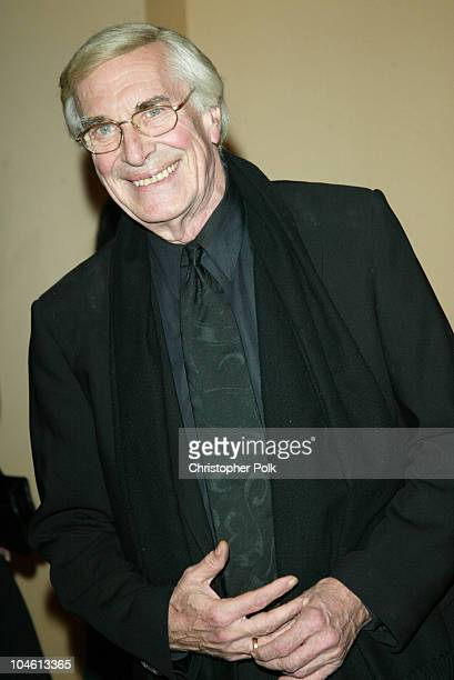 Martin Landau during To Protect and to Serve at Century Plaza Hotel in Century City CA United States