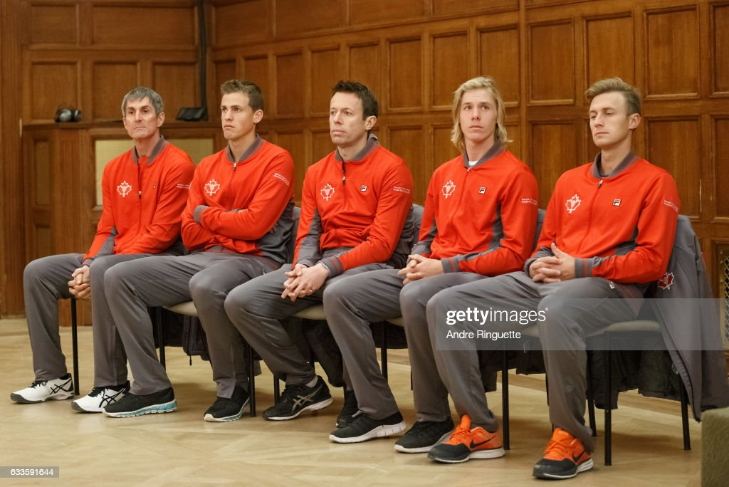 Canada v GB: Davis Cup by BNP Paribas World Group First Round - Party