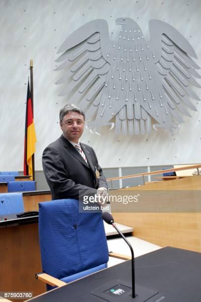 Martin Lohmann Chefredakteur RheinZeitung im ehemaligen Deutschen Bundestag in Bonn