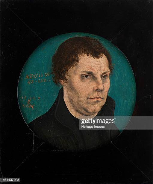 Martin Luther 1525 From a private collection