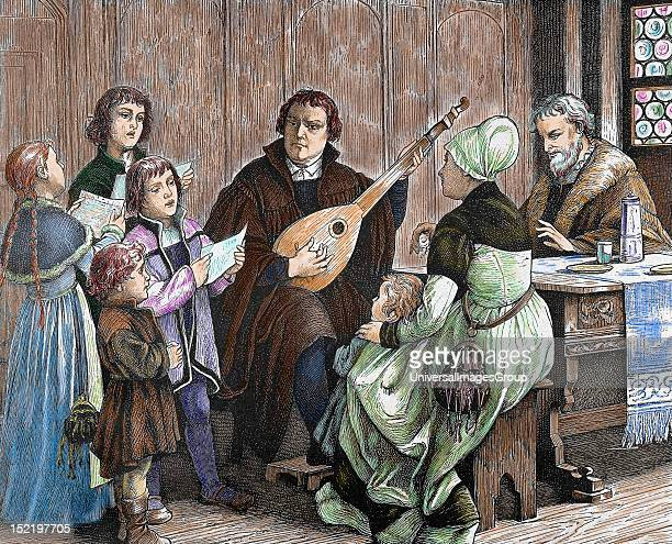 Martin Luther German reformer Doctor of Theology and Augustinian priest In 1517 outlined the main thesis of Lutheranism in Wittenberg He was...