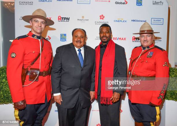 Martin Luther King III and Lyric Bent attend 2017 Canada's Walk of Fame at The Liberty Grand on November 15 2017 in Toronto Canada