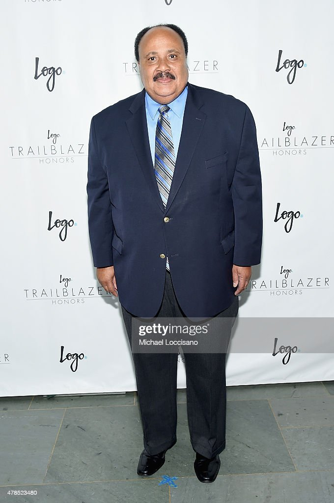Martin Luther King III attends Logo's 'Trailblazer Honors' 2015 at the Cathedral of St John the Divine on June 25 2015 in New York City