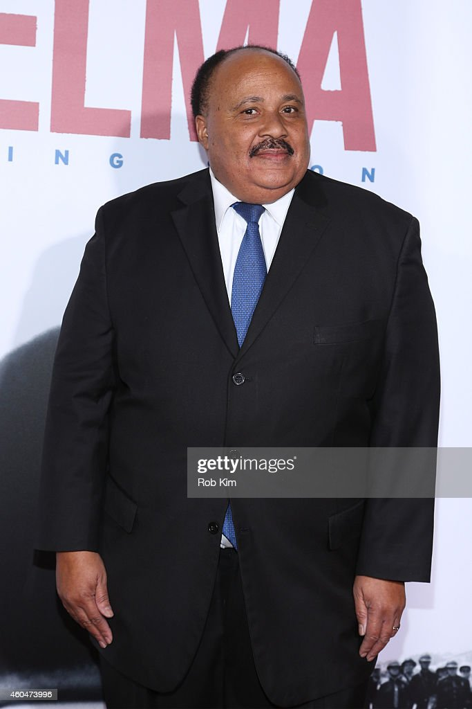 Martin Luther King III attends the 'Selma' New York Premiere at Ziegfeld Theater on December 14 2014 in New York City