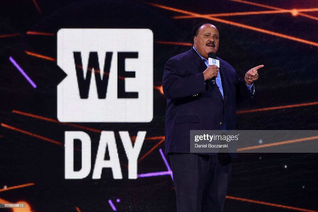 Martin Luther King III attends WE Day Chicago at Allstate Arena on April 28, 2016 in Chicago, Illinois.