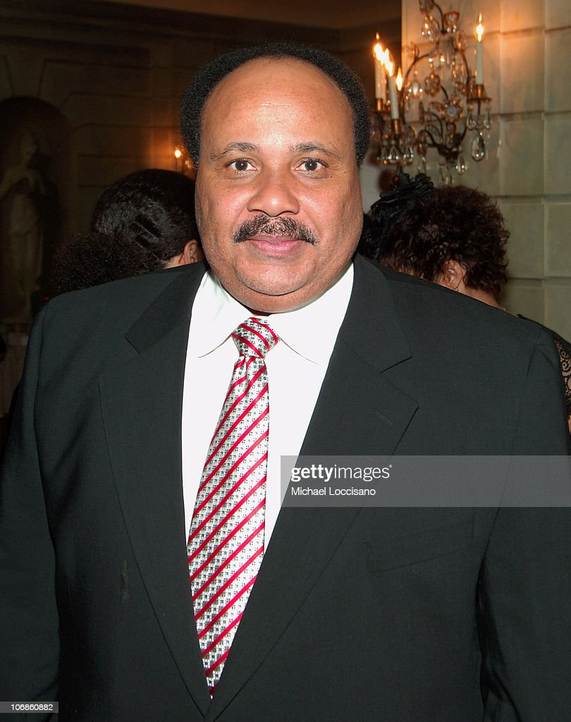 Martin Luther King III during American Jewish Congress Isiah Award Dinner Honoring Clarence B Jones at The Pierre Hotel in New York City New York...