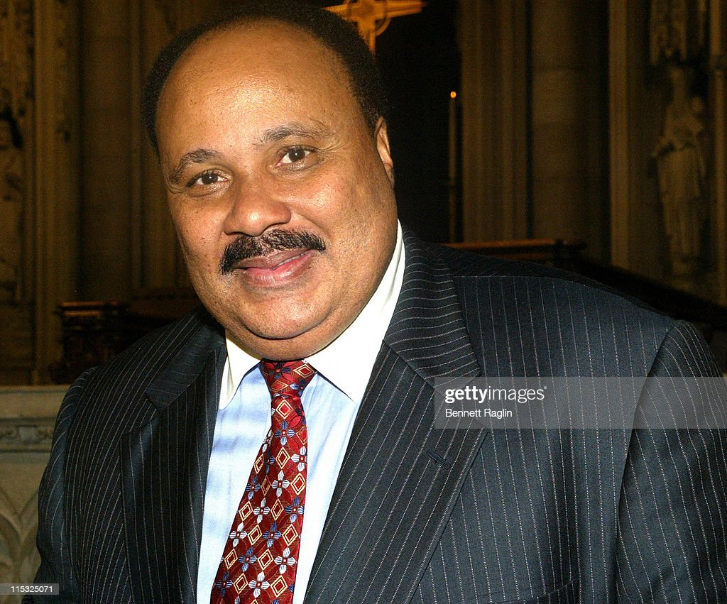 Martin Luther King III during Civil Rights Coalition 'Realizing The Dream' Hosts Senator John Edwards For Keynote Address During Program Honoring...