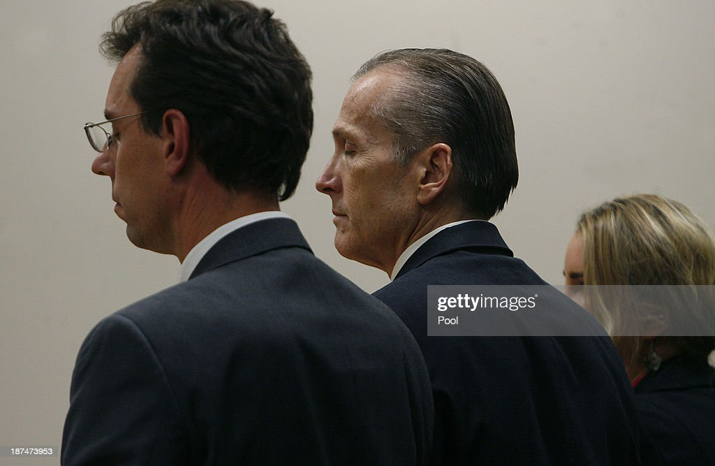 Martin MacNeill, listens as the guilty verdict is read in the courtroom by the jury for the murder of his wife Michele MacNeill on November 9, 2013 in Provo, Utah. Martin MacNeill, was found guilty of murdering his wife Michele MacNeill in 2007 to continue an affair with a younger woman.