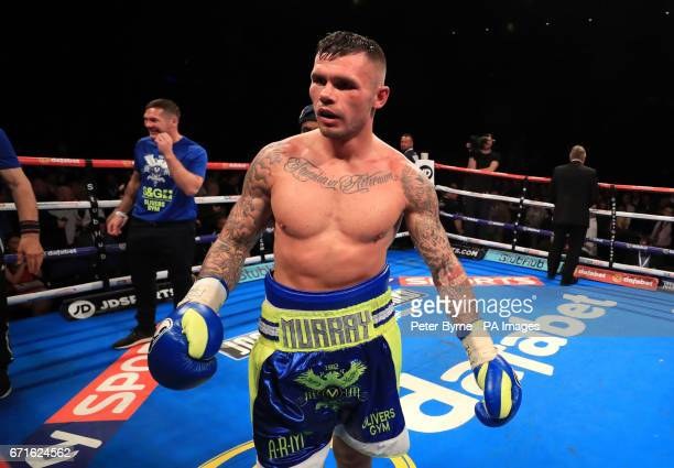 Martin Murray after his WBA InterContinental Middleweight Title with Gabriel Rosado at Liverpool Echo Arena