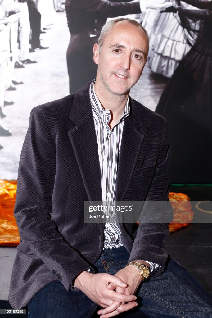Martin Nolan, Executive Director, Julien's Auctions poses for a photo at Julien's Auctions Gallery on April 1, 2013 in Beverly Hills, California.