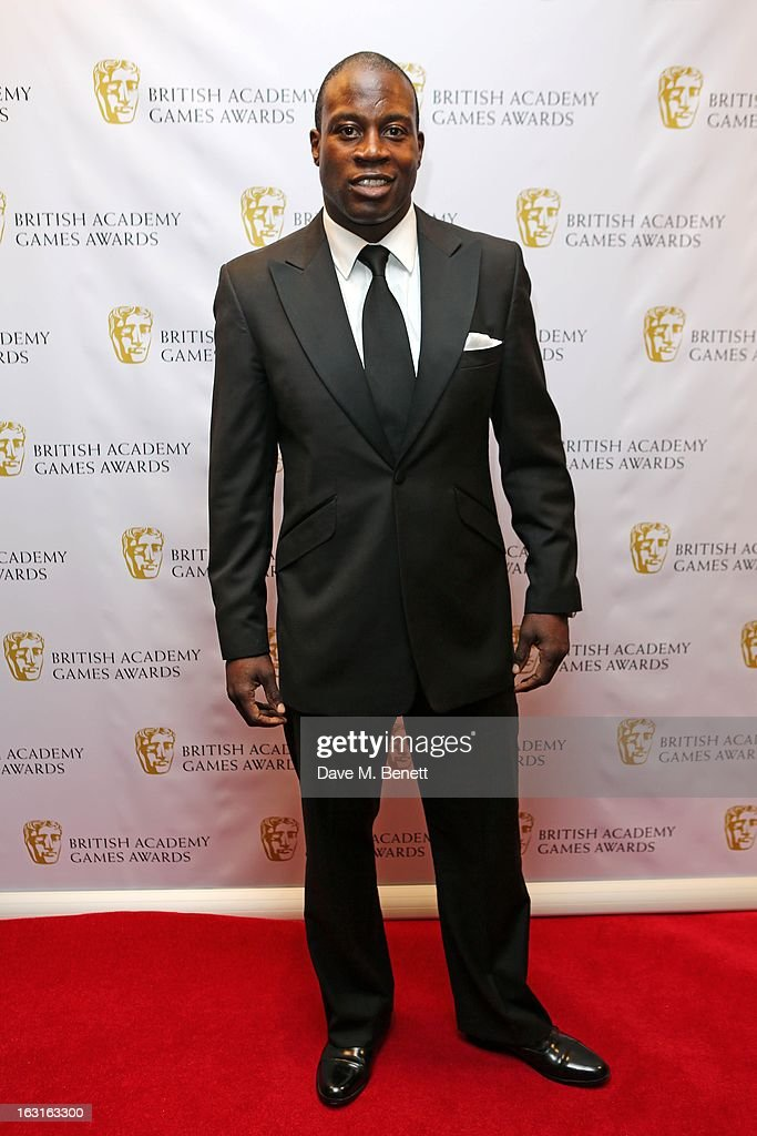 <a gi-track='captionPersonalityLinkClicked' href=/galleries/search?phrase=Martin+Offiah&family=editorial&specificpeople=553361 ng-click='$event.stopPropagation()'>Martin Offiah</a> attends The British Academy Games Awards at London Hilton on March 5, 2013 in London, England.