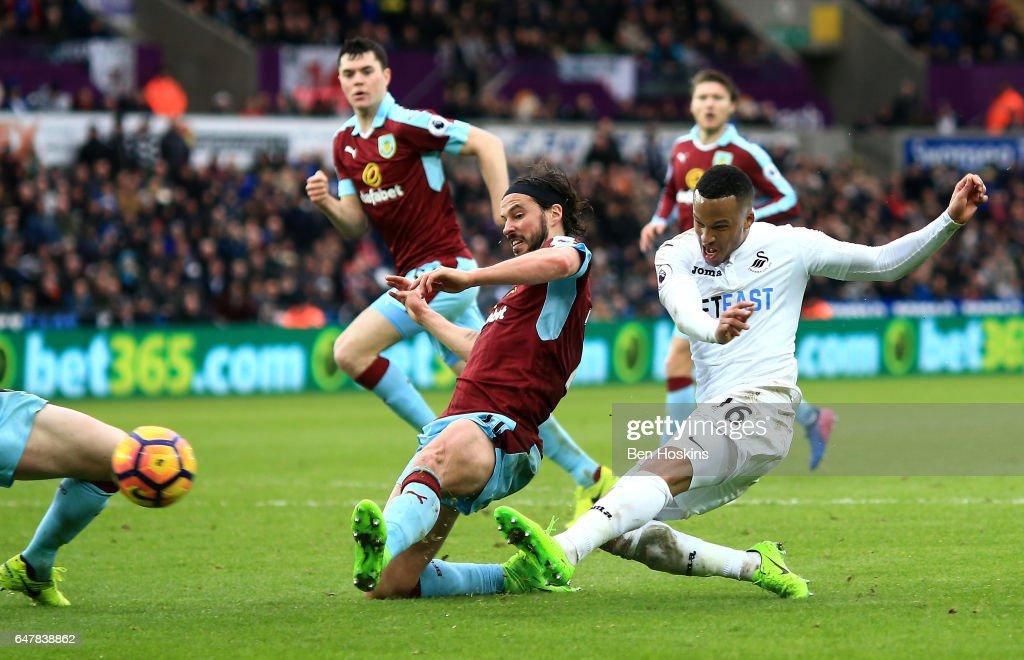 Swansea City v Burnley - Premier League