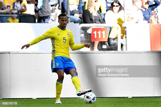 Martin Olsson of Sweden during the international friendly between Sweden and Wales at Friends Arena on June 5 2016 in Solna Sweden