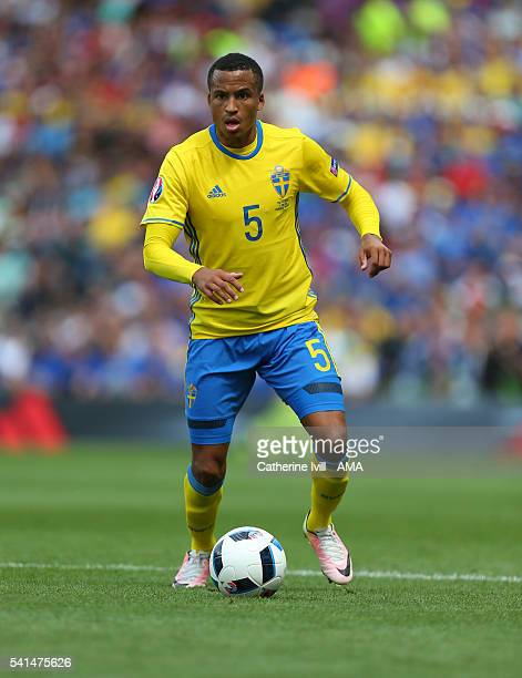 Martin Olsson of Sweden during the UEFA EURO 2016 Group E match between Italy and Sweden at Stadium Municipal on June 17 2016 in Toulouse France
