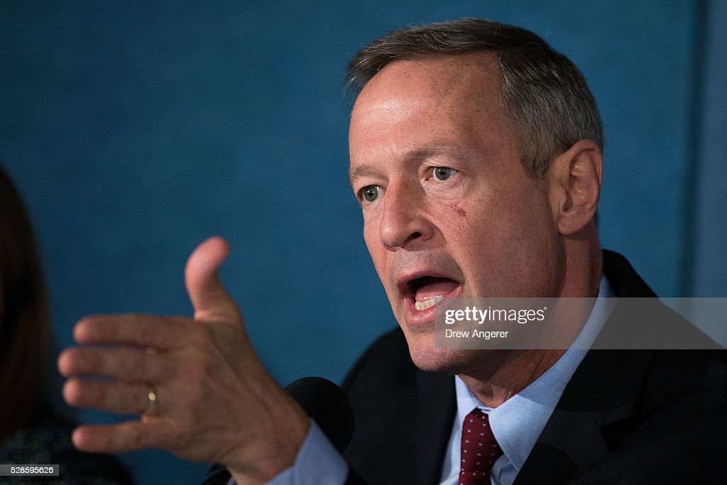 <a gi-track='captionPersonalityLinkClicked' href=/galleries/search?phrase=Martin+O%27Malley&family=editorial&specificpeople=653318 ng-click='$event.stopPropagation()'>Martin O'Malley</a> (D-MD), former Maryland governor and former 2016 presidential hopeful, speaks during panel discussion at the National Press Club, May 6, 2016, in Washington, DC. The panel, titled 'Words Matter: the U.S. Debate over Immigration, the Media, and the 2016 Election,' was organized by the American Bar Association.