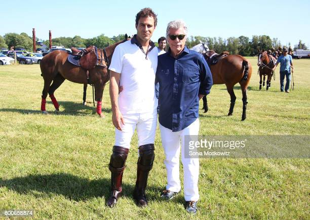 Martin Pepa and Neil Hirsch attend the First Annual Polo Hamptons Match at Southampton Polo Club on June 24 2017 in New York City