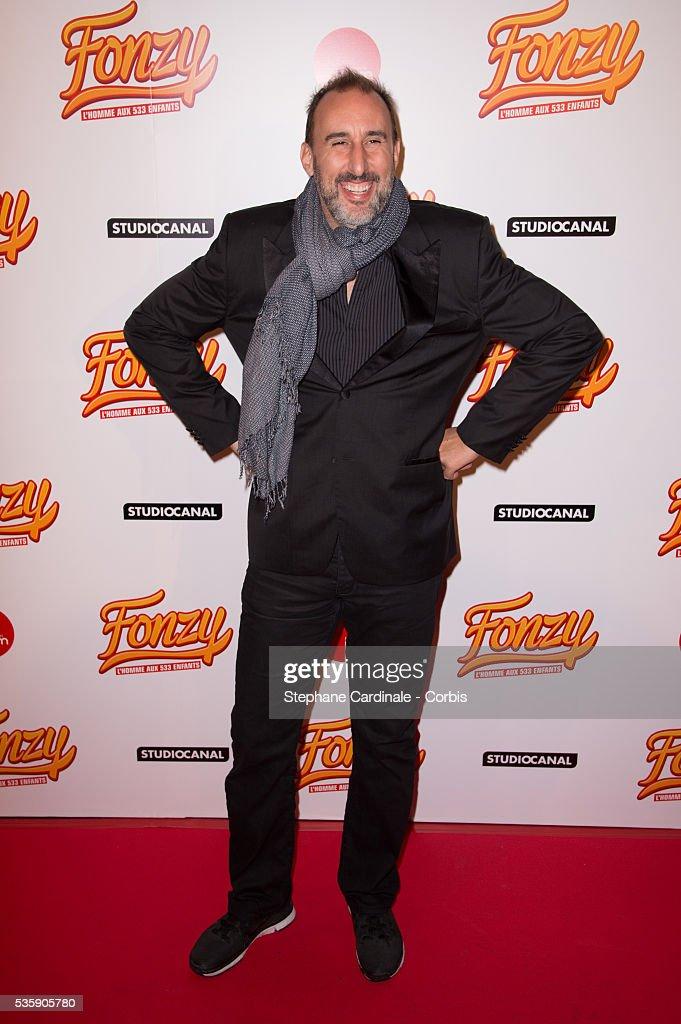 Martin Petit attends the 'Fonzy' Paris Premiere at Cinema Gaumont Opera, in Paris.