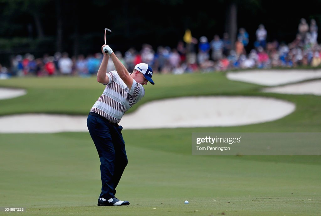 <a gi-track='captionPersonalityLinkClicked' href=/galleries/search?phrase=Martin+Piller&family=editorial&specificpeople=5745583 ng-click='$event.stopPropagation()'>Martin Piller</a> hits a shot on the first hole during the Third Round of the DEAN & DELUCA Invitational at Colonial Country Club on May 28, 2016 in Fort Worth, Texas.
