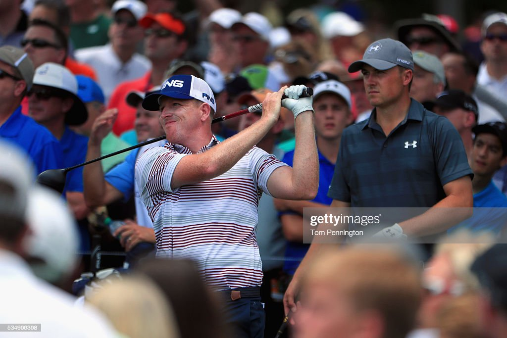 <a gi-track='captionPersonalityLinkClicked' href=/galleries/search?phrase=Martin+Piller&family=editorial&specificpeople=5745583 ng-click='$event.stopPropagation()'>Martin Piller</a> plays his shot from the third tee during the Third Round of the DEAN & DELUCA Invitational at Colonial Country Club on May 28, 2016 in Fort Worth, Texas.