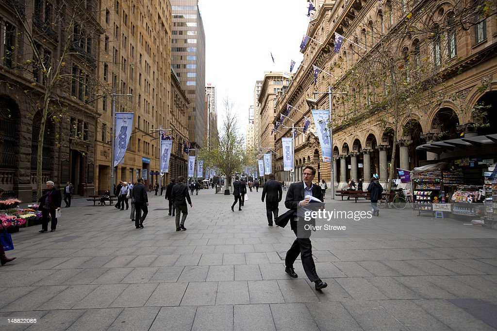 Martin Place. : Stock Photo
