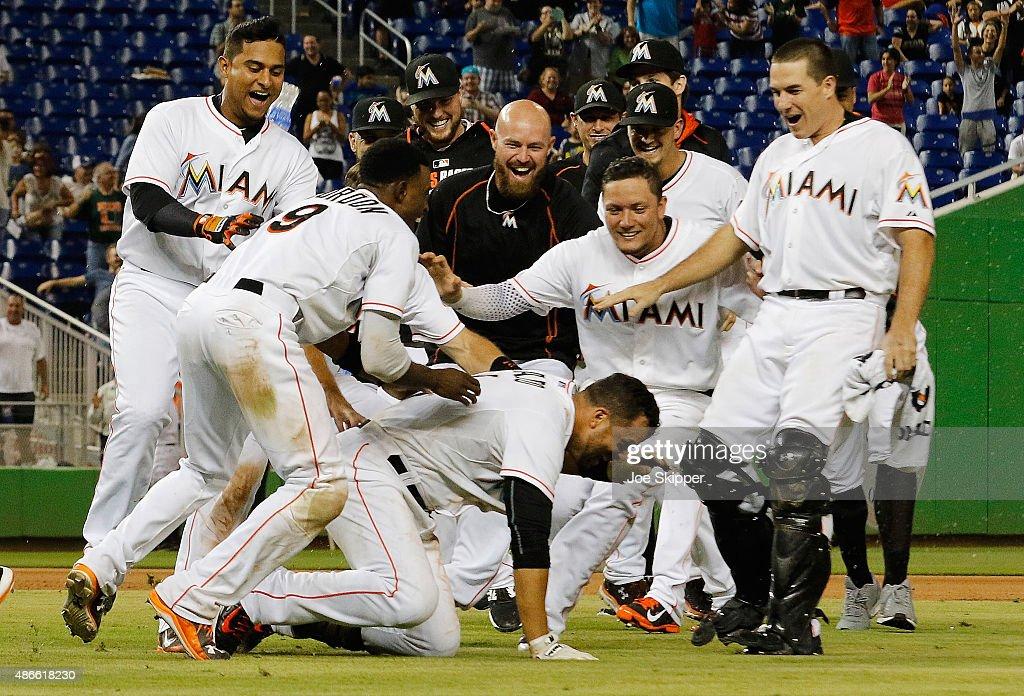 New York Mets v Miami Marlins