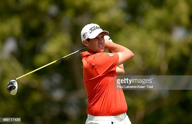 Martin Rominger of Switzerland in action during round two of the Asian Tour Qualifying School presented by Sports Authority of Thailand at The...
