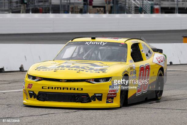 Martin Roy Xfinity Series driver of the Cote / Gamache Truck Center Chevrolet during practice for the Overton's 200 NASCAR Xfinity Series race on...