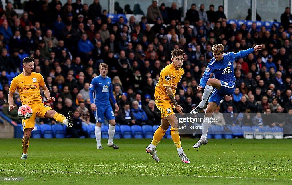 Peterborough United v Preston North End - The Emirates FA Cup Third Round