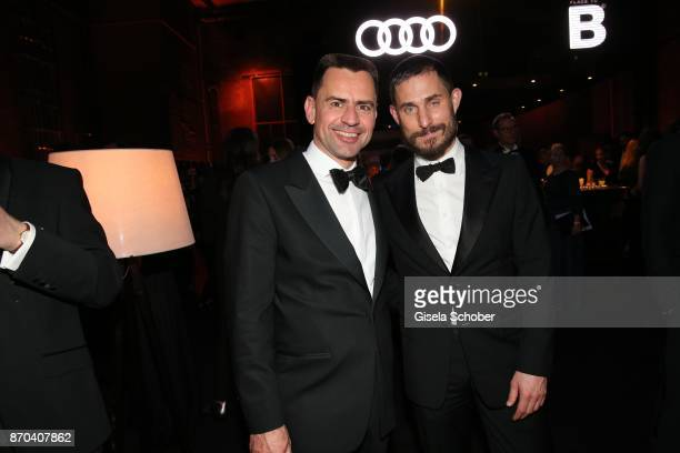 Martin Sander Leiter Vertrieb Deutschland AUDI AG and Clemens Schick during the aftershow party of the 24th Opera Gala benefit to Deutsche...