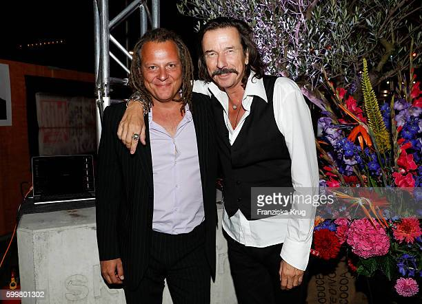 Martin Schoeller and Tom Lemke attends the BILD100 event on September 06 2016 in Berlin Germany