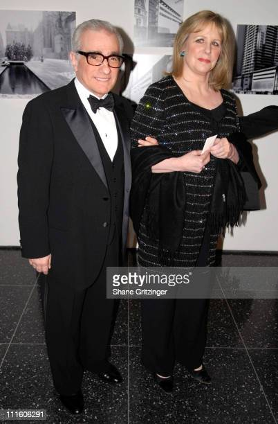 Martin Scorsese and Helen Scorsese during The Museum of Modern Art Honors Martin Scorsese at the 39th Annual Party In The Garden Gala at Abby Aldrich...