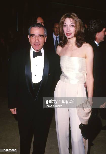 Martin Scorsese and Illeana Douglas during The 9th Annual ASC Awards For Outstanding Achievement In Cinematography at Beverly Hilton Hotel in Beverly...