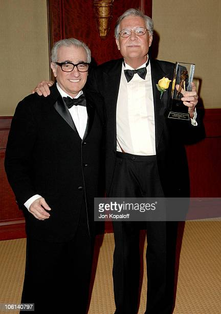 Martin Scorsese and Michael Ballhaus during 21st Annual American Society Of Cinematographers Awards Press Room at Century Hyatt Hotel in Century City...