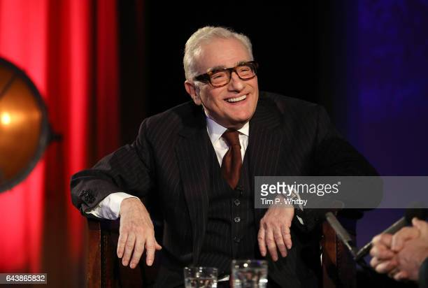 Martin Scorsese appearing on stage as part of the 'In Conversation' series of events at BFI Southbank on February 22 2017 in London United Kingdom