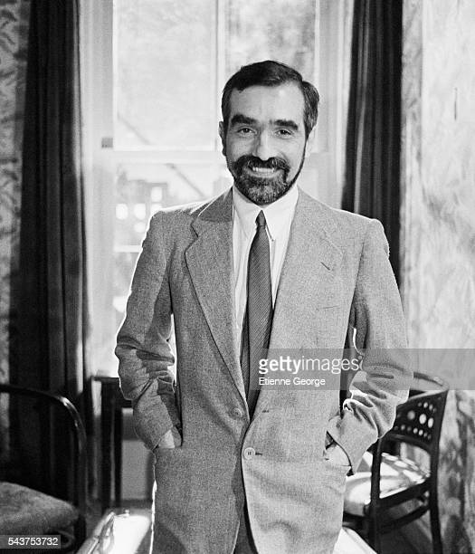 Martin Scorsese as an actor on the set of Bertrand Tavernier's film 'Round Midnight' based on the David Rayfiel screenplay