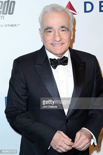 Martin Scorsese attending Friars Club Honors Martin Scorsese with Entertainment Icon Award at Cipriani Wall Street on September 21 2016 in New York...