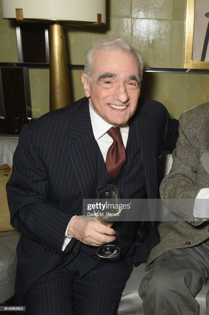 Martin Scorsese attends a drinks reception celebrating the BFI's Martin Scorsese season at Corinthia London on February 22, 2017 in London, England.