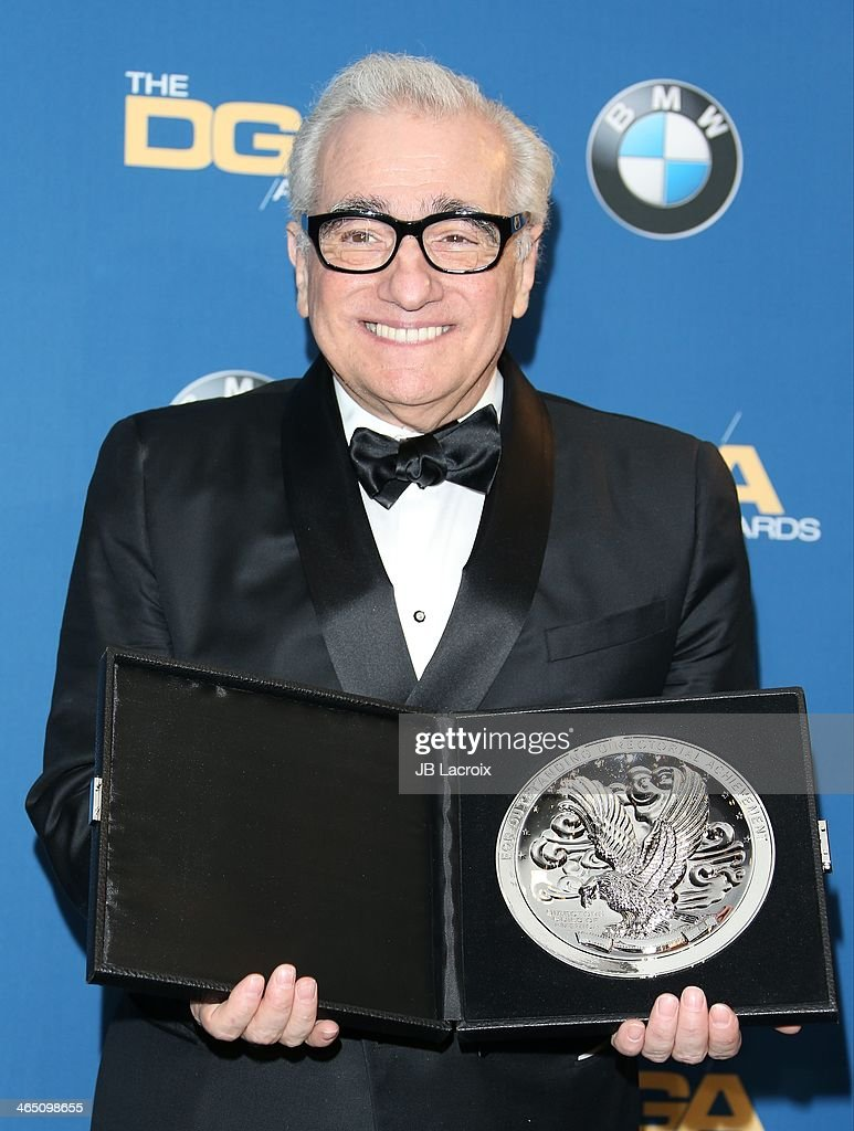 <a gi-track='captionPersonalityLinkClicked' href=/galleries/search?phrase=Martin+Scorsese&family=editorial&specificpeople=201976 ng-click='$event.stopPropagation()'>Martin Scorsese</a> attends the 66th Annual Directors Guild Of America Awards - Press Room at the Hyatt Regency Century Plaza on January 25, 2014 in Century City, California.