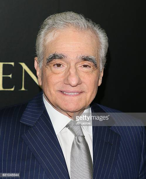 Martin Scorsese attends the premiere of Paramount Pictures' 'Silence' on January 5 2017 in Los Angeles California