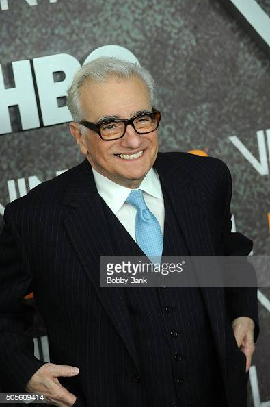 Martin Scorsese attends the 'Vinyl' New York Premiere at Ziegfeld Theatre on January 15 2016 in New York City