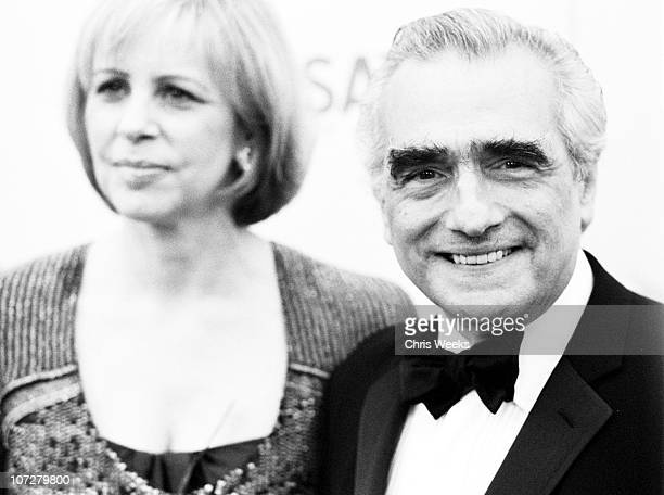 Martin Scorsese during 31st AFI Life Achievement Award Presented to Robert DeNiro Red Carpet Black White Photography by Chris Weeks at Kodak Theater...