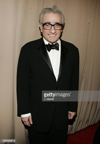 Martin Scorsese during Glamour/Miramax Post Golden Globe Awards Party at Beverly Hills Hilton in Beverly Hills California United States